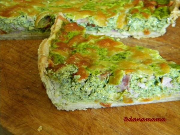 tarta cu broccoli si spanac2