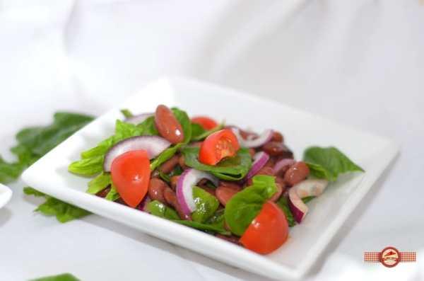 Salata de spanac cu fasole1