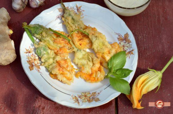 Flori de dovlecel tempura5