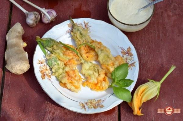 Flori de dovlecel tempura6