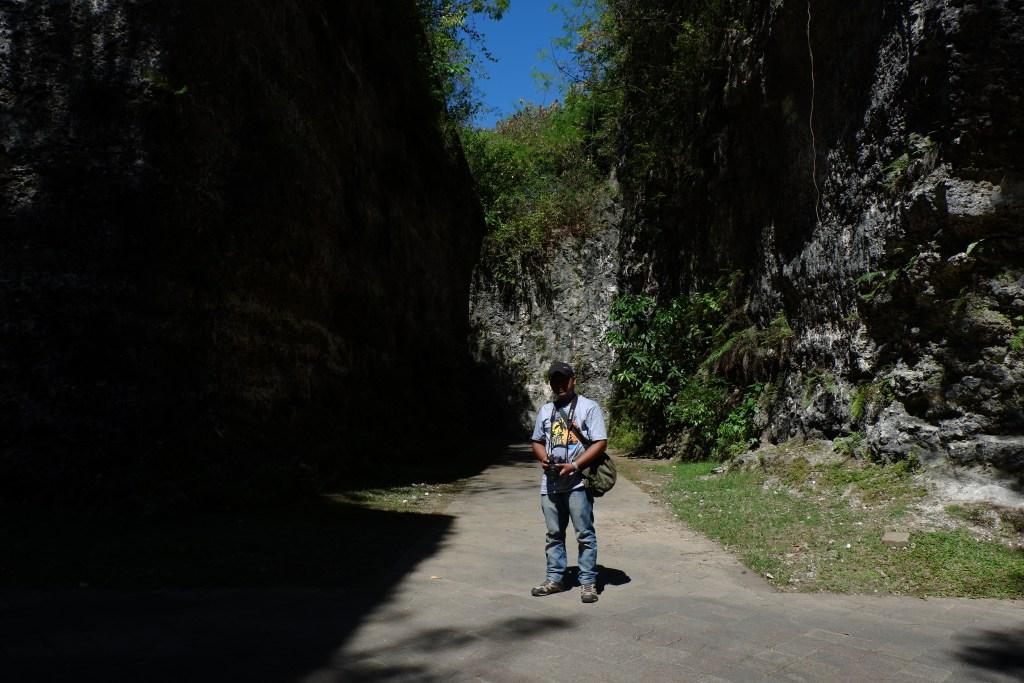 Tebing Kapur yang Terbentuk di GWK