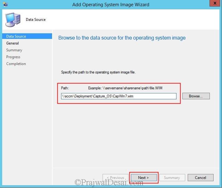 Capture Windows 7 Using SCCM 2012 R2 Snap13