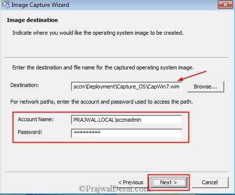 Capture Windows 7 Using SCCM 2012 R2 Snap7