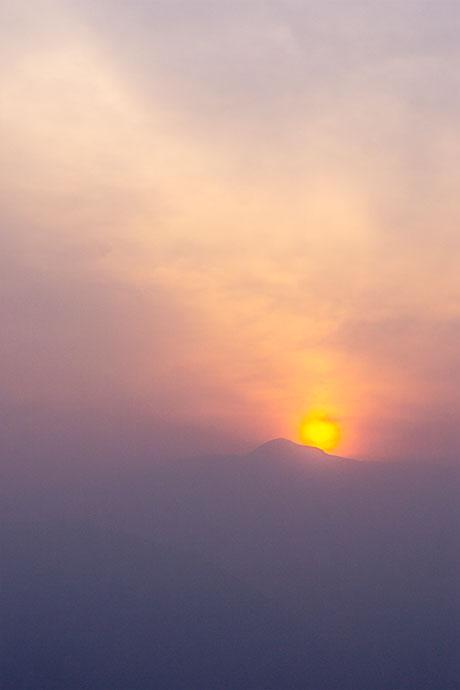 Sunrise from Priti