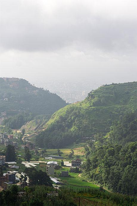 Ichangu landscape
