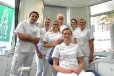 Groepsfoto team Tandartspraktijk Domstad in september 2021