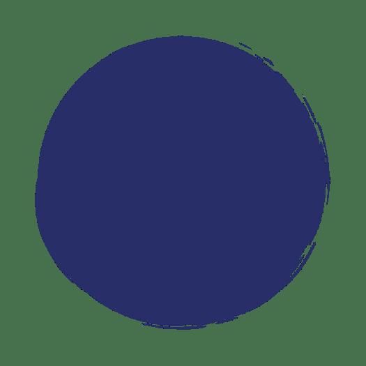 blauwe cirkel