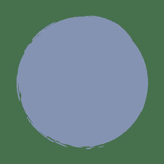 lichtblauwe cirkel