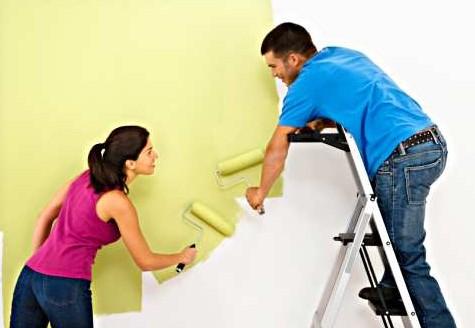 βαψιμο τοιχων