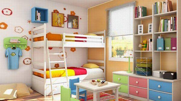 παιδικό δωμάτιο - οργάνωση