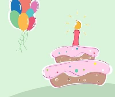 στολισμός τούρτας γενεθλίων