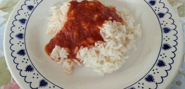 ρύζι - σκόρδο