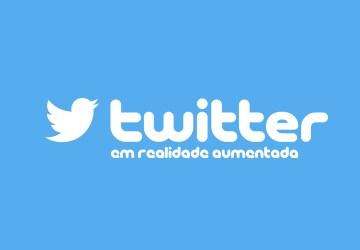 A aplicação do Twitter em Realidade Aumentada