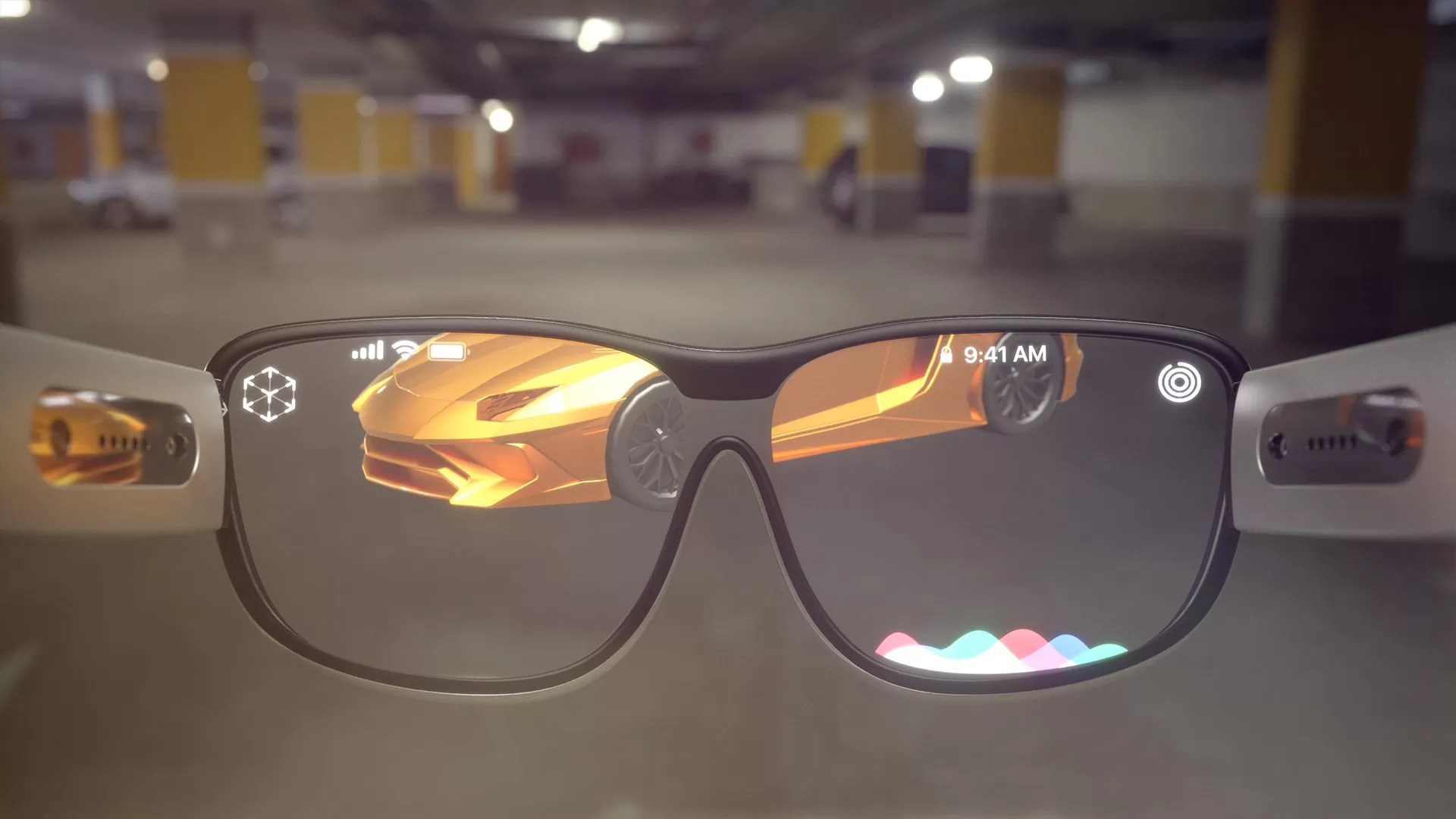 Protótipo dos Óculos de Realidade Aumentada da Apple