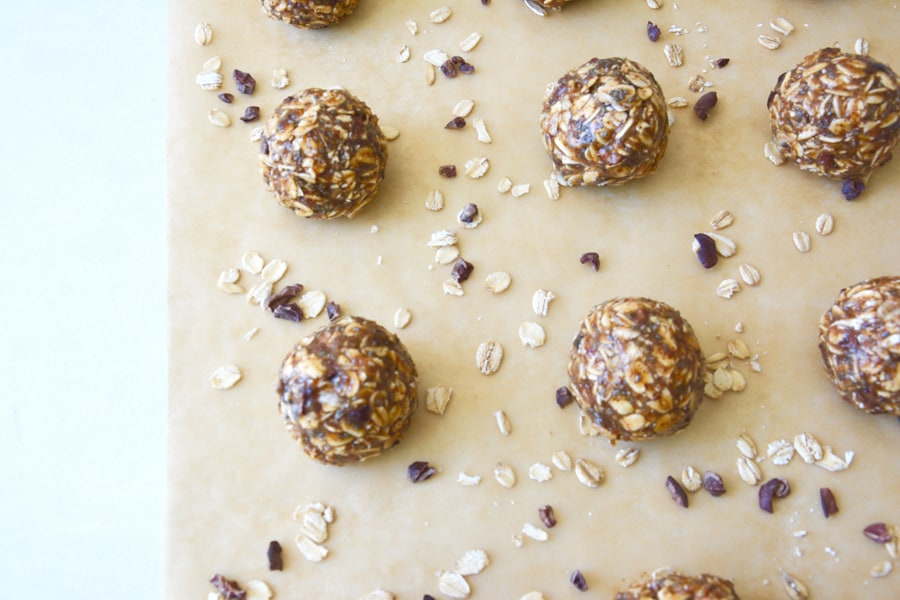 Oatmeal and Almond Butter Bites