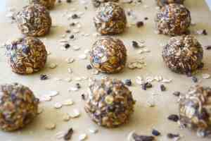 Oatmeal Almond Butter Bites