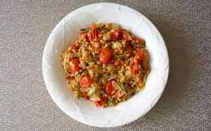Tomato and Basil Farro