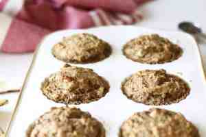 Banana Bread Muffins With Creamy Cashew Milk