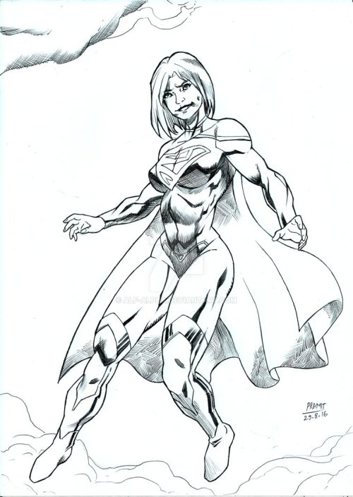 Supergirl by Pramit