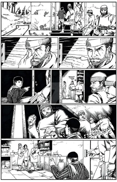 Rakshak Issue 1 pg7 by Pramit