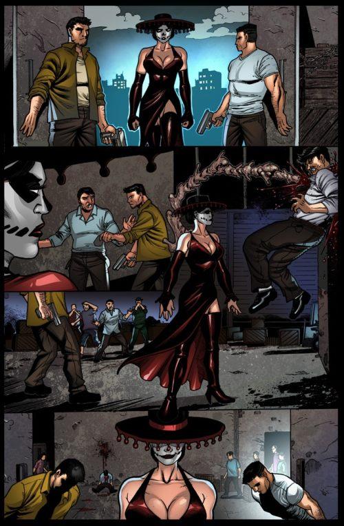 Lobo #1 Sample pg 3 by Pramit