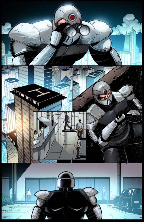 Lobo #1 Sample pg 1 by Pramit