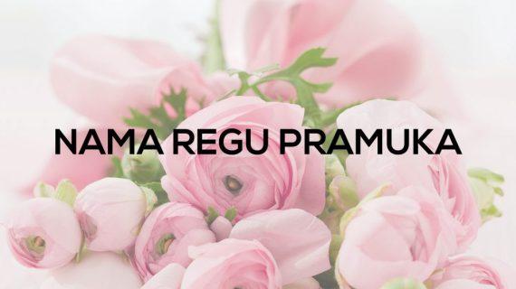Nama Regu Pramuka