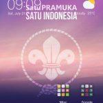 Wallpaper Smartphone Pramuka