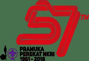 logo hari pramuka 57 2018 png
