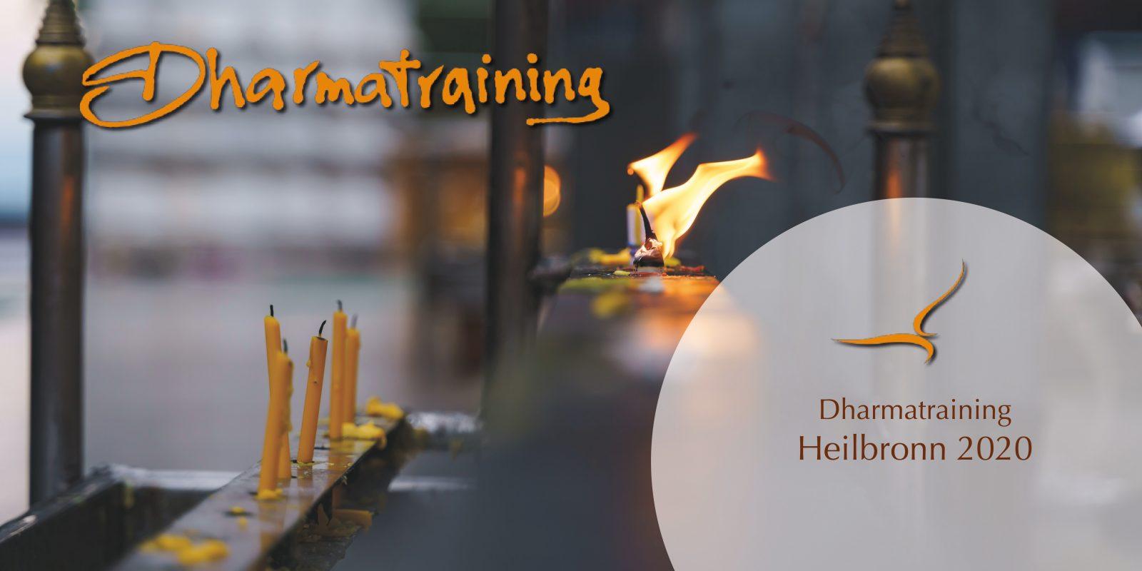 Dharmatraining | Heilbronn 2020