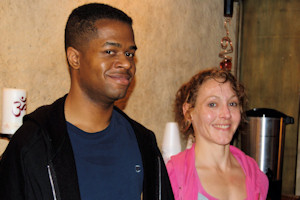 Photo: Mary Naeger and Donavan Wilson, authors of review