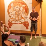 Photo: Brian Kest yoga class at Thrive Yoga - Brian speaking
