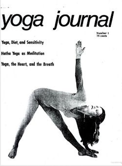 Cover art for Yoga Journal
