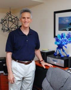 Photo: Howard Rontal in his office