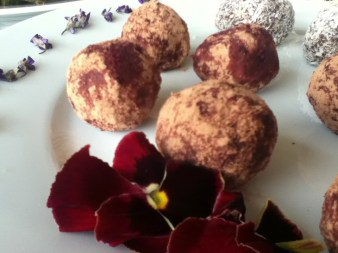 """Almost too good 2 be true"" Bliss Balls with Beetroot"