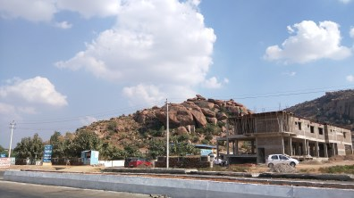 First Sight of Boulders near Koppal