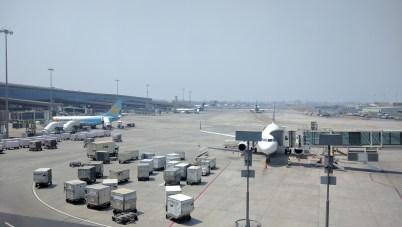 At The Mumbai Airport