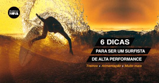 Dicas de treino e alimentação para surf