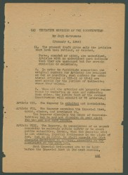 Matsumoto draft 1/4/1946 (English version)