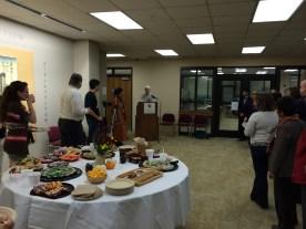 メリーランド大学図書館館長、Dean Steeleが巽由佳子を紹介しました。
