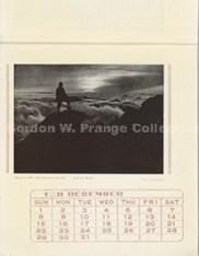 """山と渓谷社版 アルパイン・カレンダー : : the Yama to Keikokusha's alpine calender""""(Prange Call No. CE-0007)"""