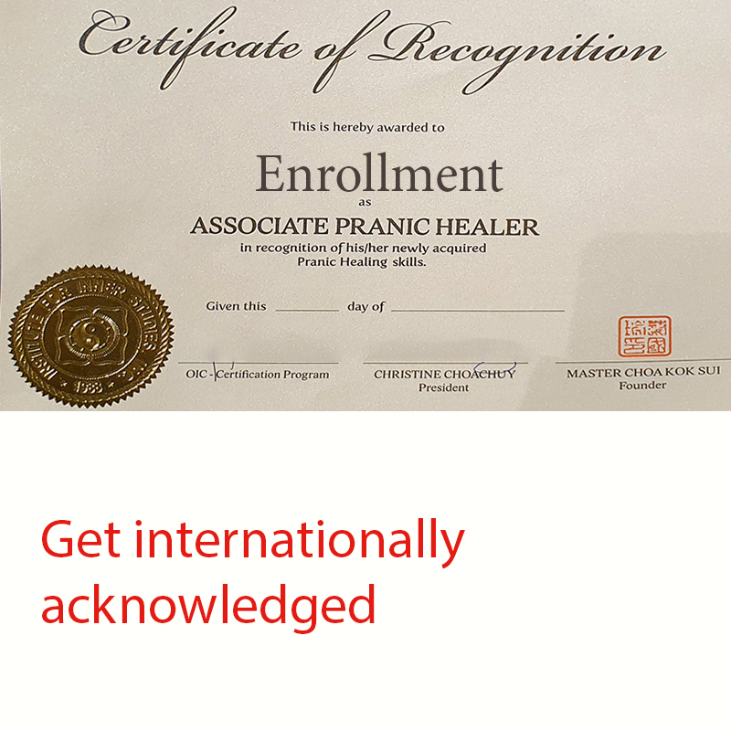 Associate Certified Pranic Healer Program