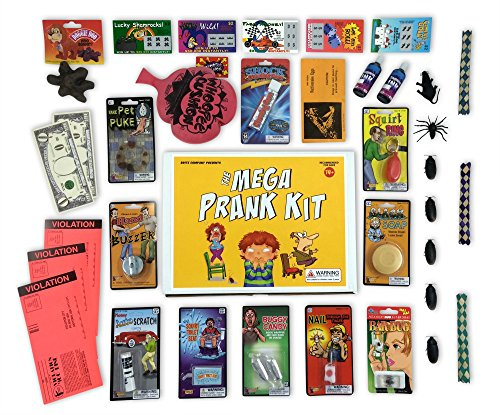 Awesome The Mega Prank Kit 35 Funny Pranks And Jokes In A Gift Box Beatyapartments Chair Design Images Beatyapartmentscom