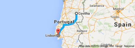 Covilhã_Lisbon