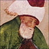 Rumi--in an old rendering.
