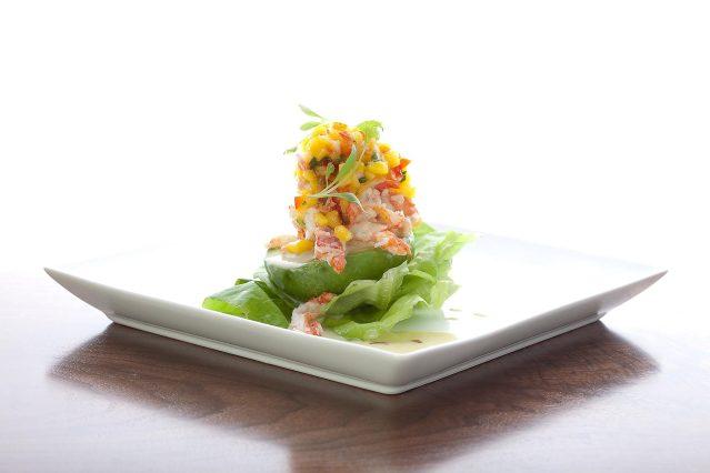 prasino - la grange, illinois - lobster stuffed avocado
