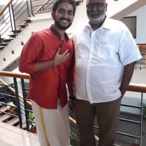 Prasobh Ramachandran with Keeravani