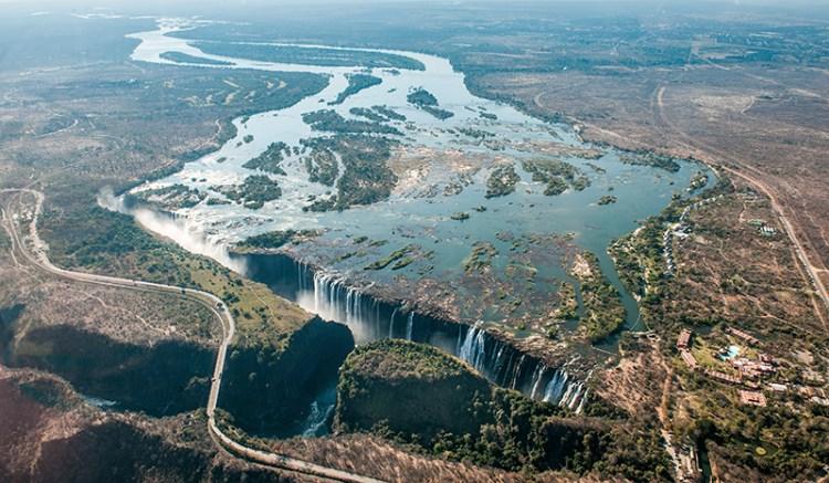Sungai zambezi, Sungai terpanjang di dunia