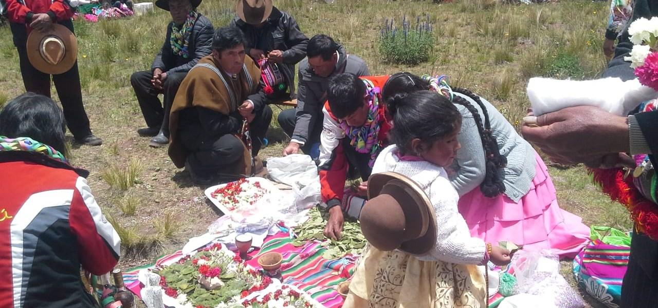 PUNO: Visitas rituales a las chacras para fortalecer los cultivos en Tuni Requena