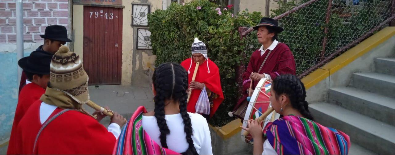 """Recuperando la música andina en espacios urbanos: Tiempo de """"Amaypacha"""" (tiempo de los ancestros)"""